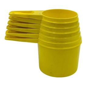 TUPPERWARE Nesting Measuring Cups 761-766 Complete